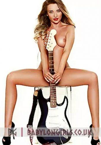 Sandra new rock star escort in London